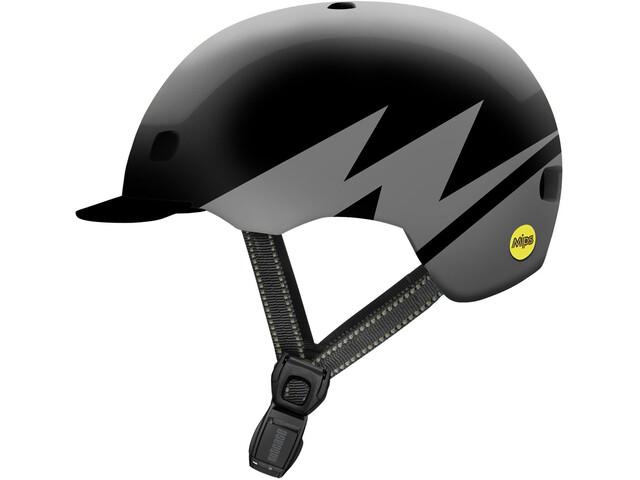 Nutcase Street MIPS Helmet darth lightnin reflective